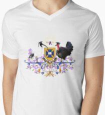 UQ Coat of Beaks #ibiswear Men's V-Neck T-Shirt