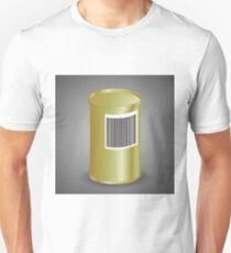 Yellow Metal Tin Can T-Shirt