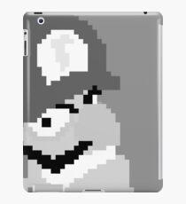 Black and Wah - Wah-Bit Edition iPad Case/Skin