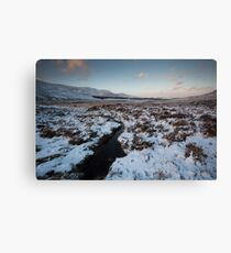 winter by loch muick Canvas Print