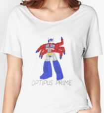 Optipus Prime Women's Relaxed Fit T-Shirt