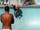Skateboarder by John Douglas