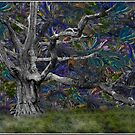 Psychedelic Oak by Wayne King