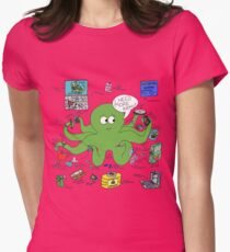 Type One Diabetapus Womens Fitted T-Shirt