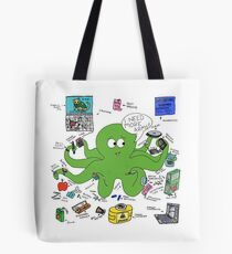 Type One Diabetapus Tote Bag