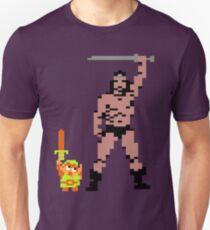 Tiny Link vs Mighty Barbarian T-Shirt