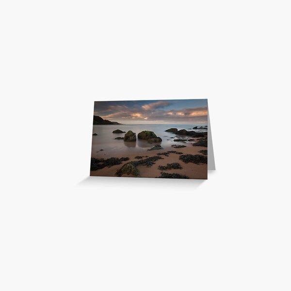 hackley bay sunset Greeting Card