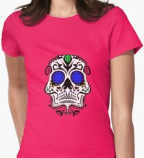 Calavera Womens Fitted T-Shirt
