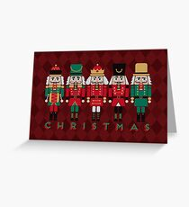 The Christmas Nutcrackers Greeting Card