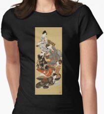 Hokusai Katsushika - Five Beautiful Women T-Shirt