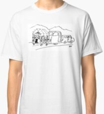 Caravan is Being Towed with a Greenhouse Classic T-Shirt