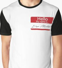 Hello, My Name is... Inigo Montoya Graphic T-Shirt