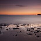 clachtoll beach sunset by codaimages