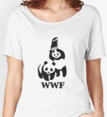 WWF - Chair Shot Women's Relaxed Fit T-Shirt
