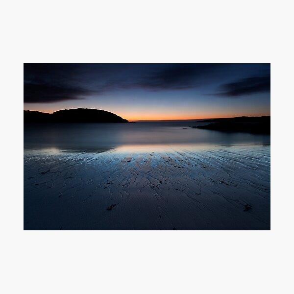 achmelvich beach sunset Photographic Print