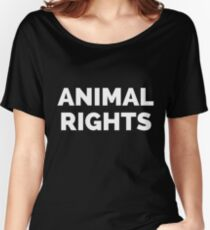 ANIMAL RIGHTS Women's Relaxed Fit T-Shirt