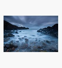 blue dusk, cove Photographic Print