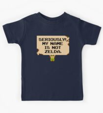 My Name Is Not Zelda Kids Clothes