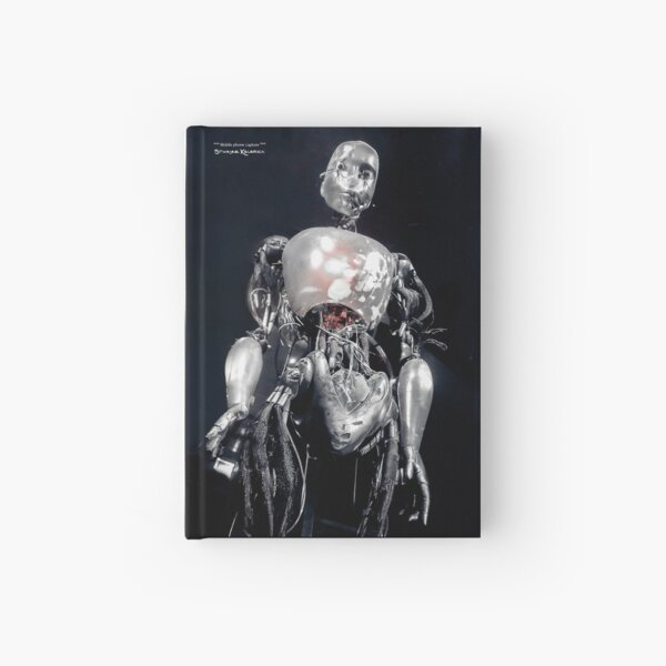 The iron robot Hardcover Journal