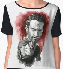 Rick Grimes - The Walking Dead Women's Chiffon Top
