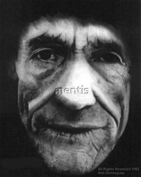 Old man by mentis