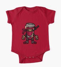 Coffee ninja or ninja coffee? - red One Piece - Short Sleeve