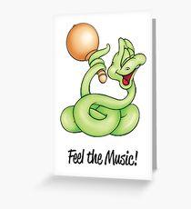 Cool Rattlesnake!  Greeting Card