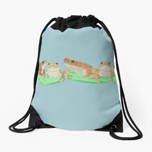 Toads Drawstring Bag