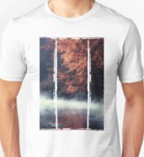 Nature*s Mirror - Fall at the River Unisex T-Shirt