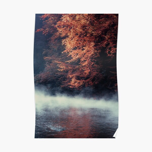 Nature*s Mirror - Fall at the River Poster