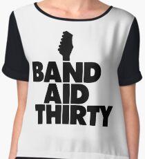 Band Aid 30 Women's Chiffon Top