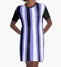 Irregular Lines Graphic T-Shirt Dress