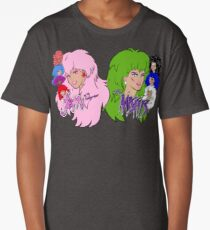 Jem and the Holograms Vs The Misfits Long T-Shirt