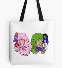 Jem and the Holograms Vs The Misfits Tote Bag