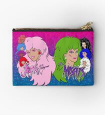 Jem and the Holograms Vs The Misfits Zipper Pouch