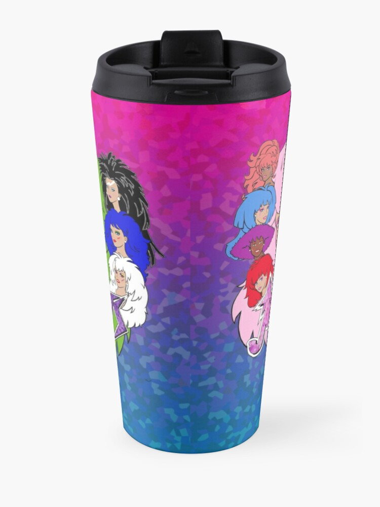 Alternate view of Jem and the Holograms Vs The Misfits Travel Mug