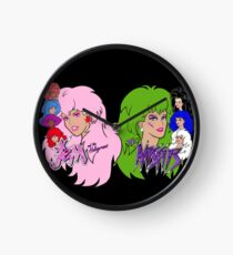 Jem and the Holograms Vs The Misfits Clock
