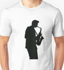 Saxophon Player Unisex T-Shirt