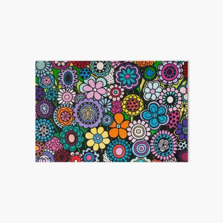 Polka Dot Bouquet Art Board Print