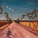 Mural-Mallee Track by caroline ellis