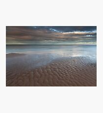 sand ripples, newburgh Photographic Print