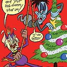 ZZ and AD Christmas! by Pedro Vargas