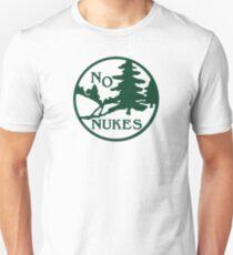 No Nukes Vtg Logo Unisex T-Shirt