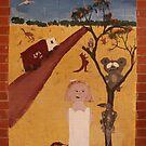 student mural-Mallee Track by caroline ellis