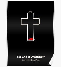 The end of Christianity Poster
