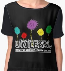 Unless march science Forget Princess earth day 2017 Chiffon Top
