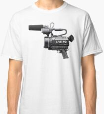 Live PD Camera Gun Classic T-Shirt