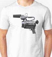 Live PD Camera Gun Unisex T-Shirt