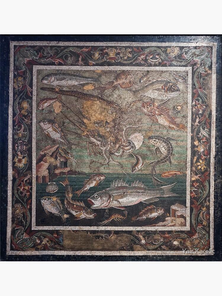 Marine Scene with Fish mosaic  by YairKarelic
