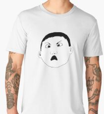 The World's Angriest Boy in the World Men's Premium T-Shirt